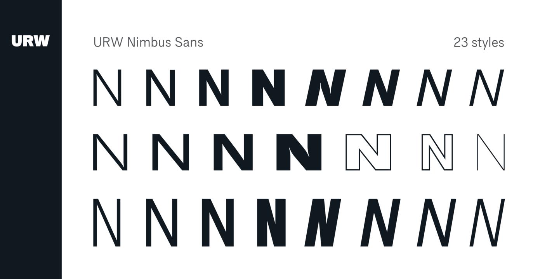 Nimbus Sans Font