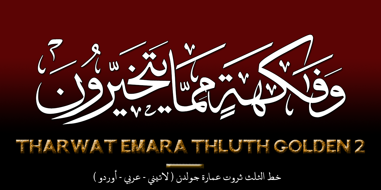 Tharwat Emara « MyFonts