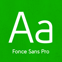 Fonce Sans Pro Flag by Ryan Ford
