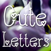 Cute Letters Flag by Harald Geisler