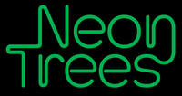 Neon Trees banner by Harry Warren