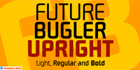 Future Bugler Upright 3 weight poster by John Bomparte