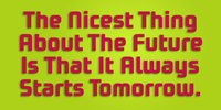 Future Bugler Upright Bold Tomorrow poster by John Bomparte