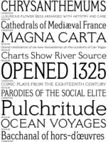 Meyer Two Specimen PDF by Font Bureau