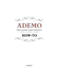 Ademo How-To Manuel