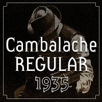 Cambalache Regular