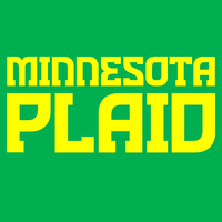 Minnesota Plaid flag by Harry Warren
