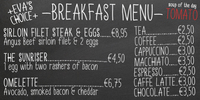 Breakfast Menu by Elwin Berlips