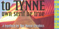 to Tynne Own Serif by Russell McGrman