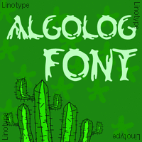 Linotype Algologfont
