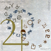 Linotype Astrology Pi