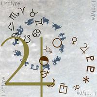 Linotype Astrology Pi