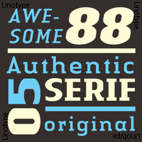 Linotype Authentic Serif