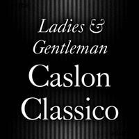 Caslon Classico Poster