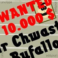Chwast Buffalo Poster