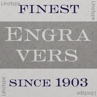 Engravers Bold Face