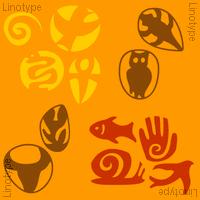 Frutiger Symbols Poster