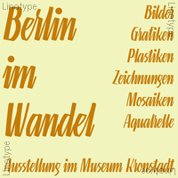 Linotype Gneisenauette Poster