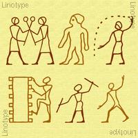 Linotype Hieroglyphes