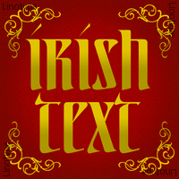 Linotype Irish Text