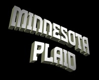 Minnesota Plaid Word Art gallery by Harry Warren