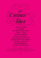 QUINCE ANOS POEM