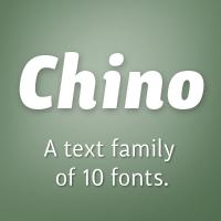 ITC Chino Poster