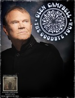 Glen Campbell Goodbye Tour poster by Surfdog Records