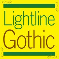 Lightline Gothic