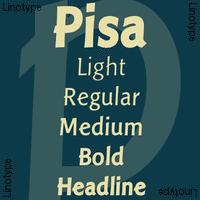 Linotype Pisa