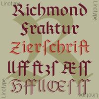 Linotype Richmond