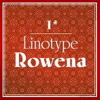 Linotype Rowena