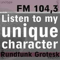Rundfunk Grotesk