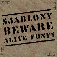 Linotype Sjablony