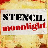 Stencil Moonlight