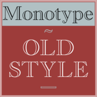 Monotype Old Style