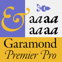 Garamond Premier Pro Poster