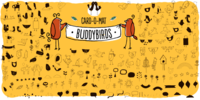 Card-O-Mat BuddyBirds by PintassilgoPrints
