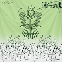 Linotype Xmas Pi