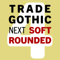 Trade Gothic Next Soft Rounded