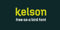 Kelson by Armasen Typefaces®