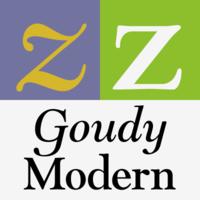 Goudy Modern MT Poster