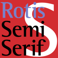Rotis Semi Serif