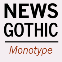 Monotype News Gothic