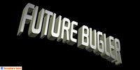 Future Bugler WordArt poster by Harry Warren