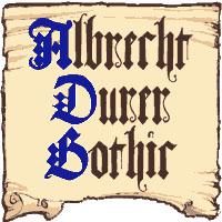 Albrecht Durer Gothic