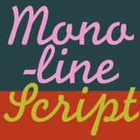 Monoline Script MT