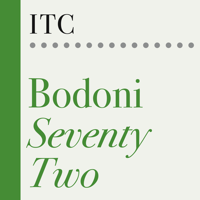 ITC Bodoni Seventy-Two