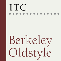 ITC Berkeley Oldstyle