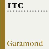 ITC Garamond Poster